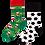 Thumbnail: Chaussettes Dépareillées Foot, Many Mornings