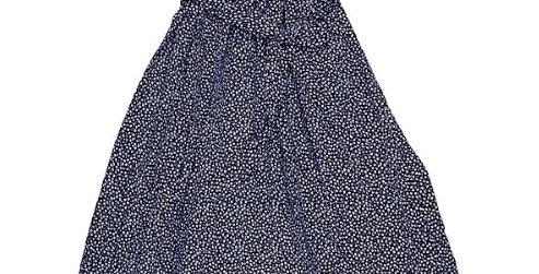 Robe Croisée Imprimée Marguerites