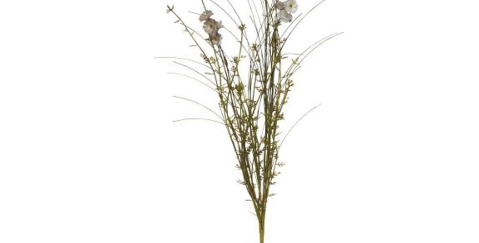 Fleurs Blanc/Beige , Ib laursen