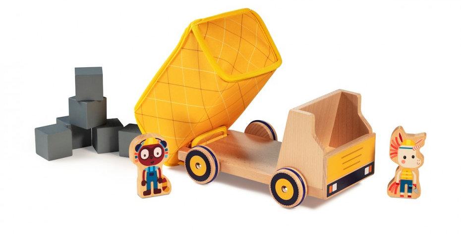 Camion Benne, Georges, Lilliputiens