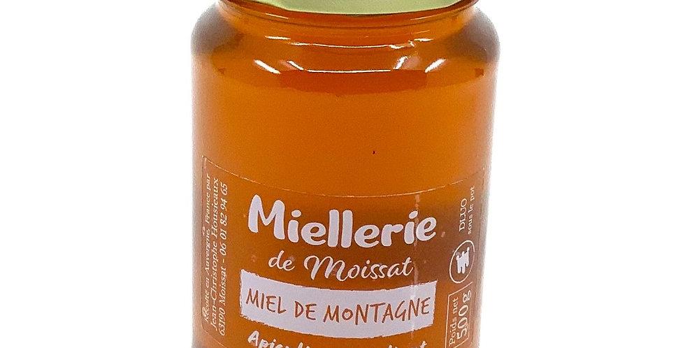 Miel De Montagne 500Gr, Miellerie De Moissat