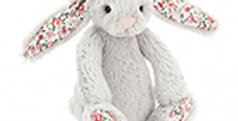 Blossom Silver Bunny Tiny, Jellycat