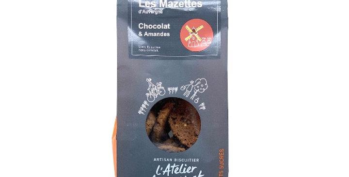 Mazettes d'Auvergne, Chocolat et Amandes, 140g, L'Atelier Auvergnat