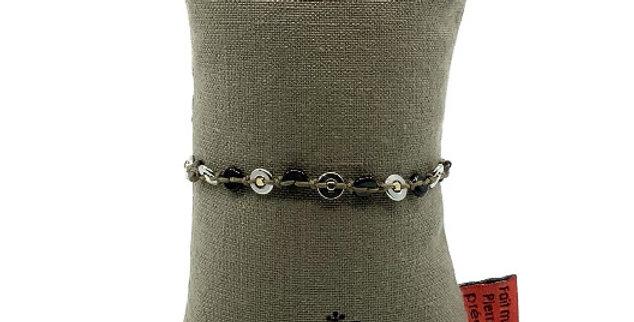 Bracelet Acier Argenté, Zag