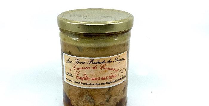 Cuisses De Canard Confites X2, Aux Bons Produits Du Fraysse