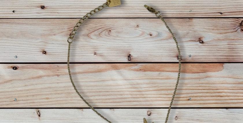 Bracelet Constellation Noir Doré Acier