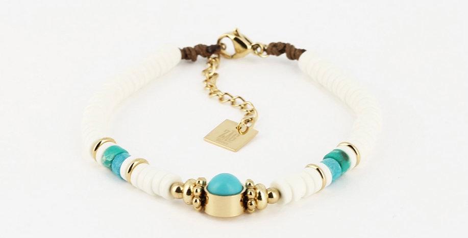 Bracelet Muccia Acier Doré, Zag