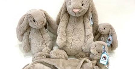 Bashful Beige Bunny, Jellycat