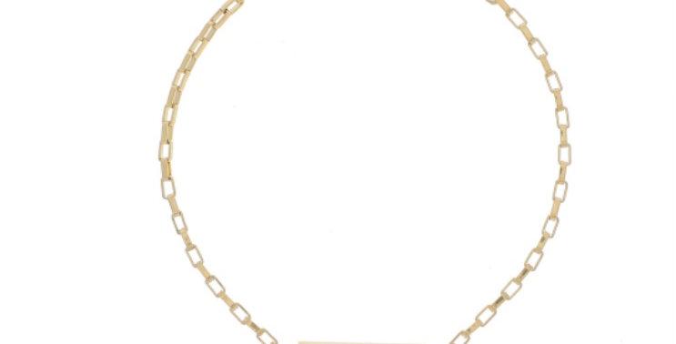Bracelet Love Acier Doré