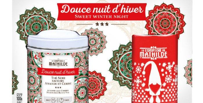 Coffret Thé Douce Nuit, Comptoir De Mathilde