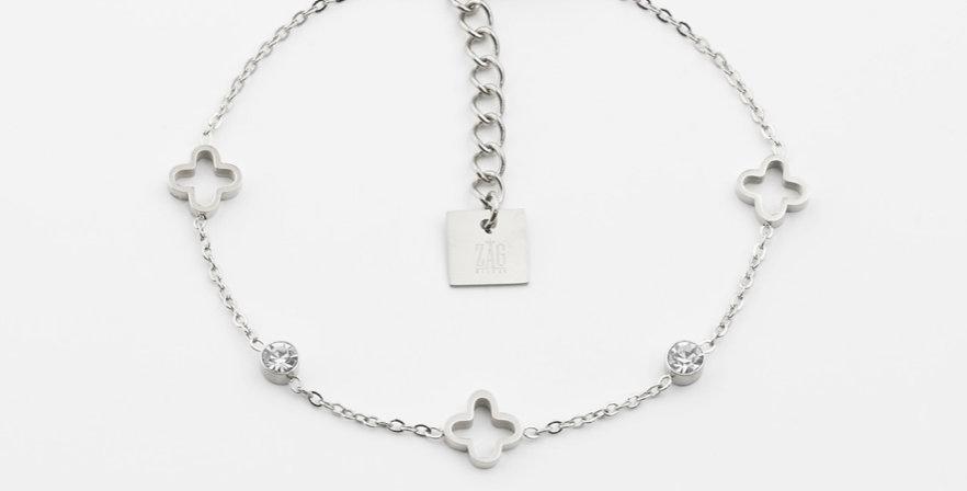 Bracelet Florentina Acier, Zag