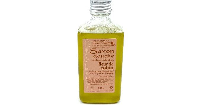 Savon Douche Fleur De Coton 250Ml, Savonnerie De La Goutte Noire