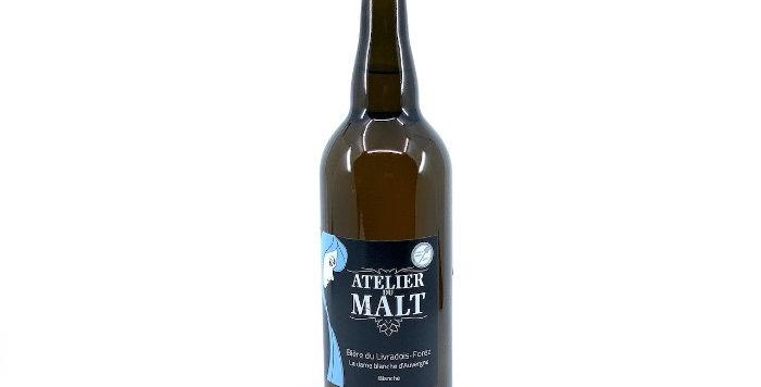 Bière Blanche, 75cl, L'Atelier du Malt*5€90