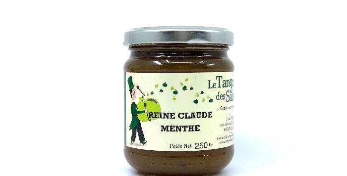 Confiture Reine Claude Menthe, 250g, Le Tango des Saveurs