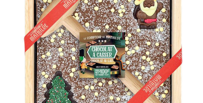 Chocolat A Casser Lait Noël, Comptoir De Mathilde
