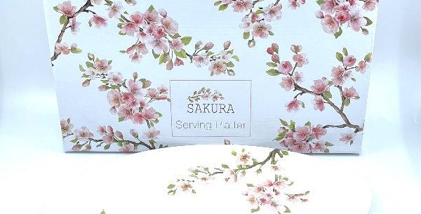Plat Ovale 36X25 Sakura, Easy Life