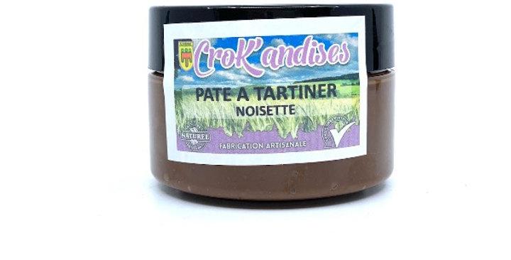 Pâte à Tartiner Noisette, Crok'andises
