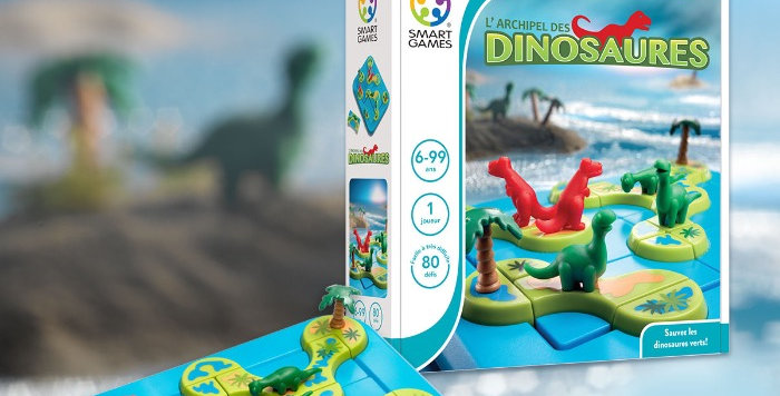 L'Archipel Des Dinosaures, Smart Games