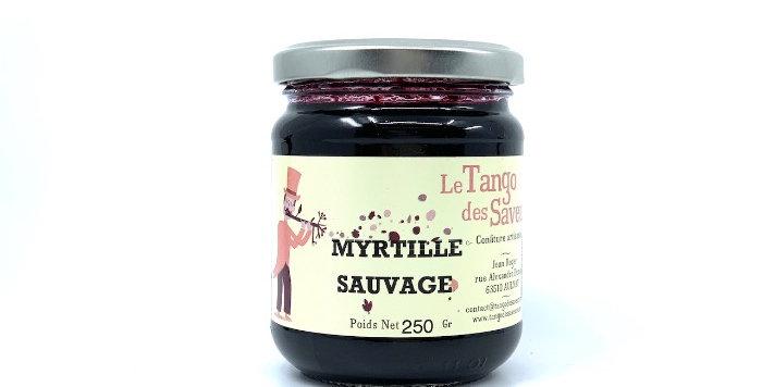 Confiture Myrtille Sauvage, 250g, Le Tango des Saveurs