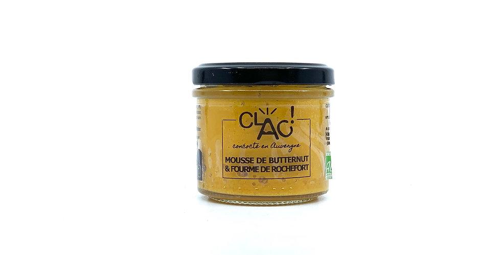 Mousse de Butternut & Fourme de Rochefort, 100g, Clac