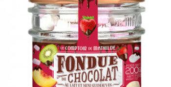 Fondue Chocolat Guimauves, Le Comptoir De Mathilde