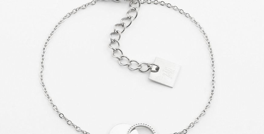 Bracelet Cantor Acier, Zag