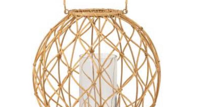 Lanterne Aria Rotin, Côté Table Yliades