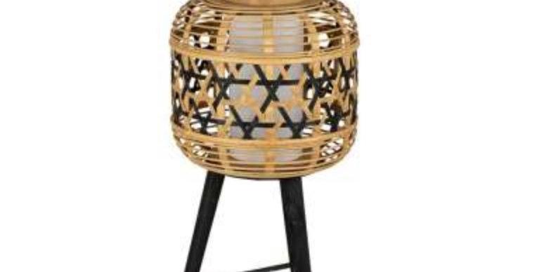 Lampe Lanterne Cordey Noir, Côté Table Yliades