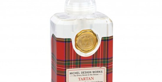 Savon Moussant Tartan 530Ml, Royal Garden