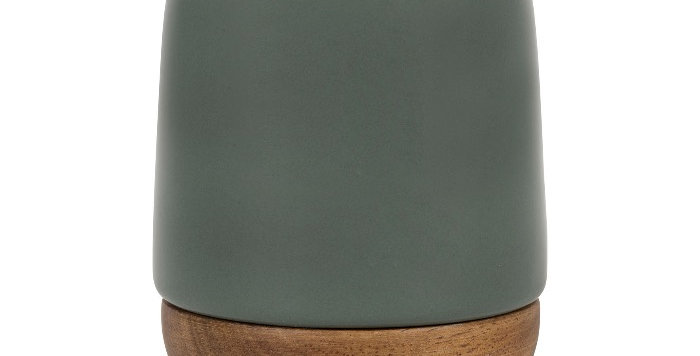 Gobelet Nordika Kaki Grés X6, Cote Table