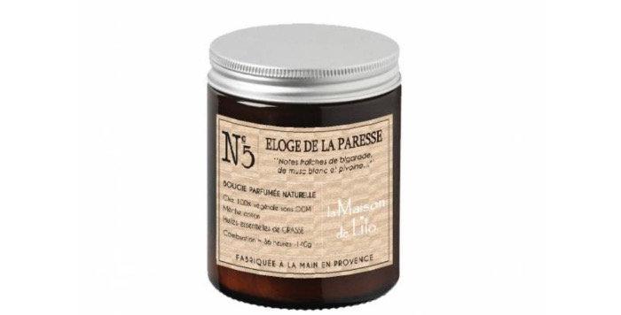 Bougie Parfumée Éloge De La Paresse, La Maison De Lilo