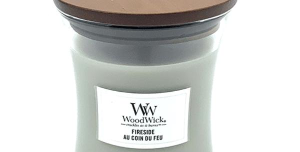 Bougie Au Coin du Feu, WoodWick