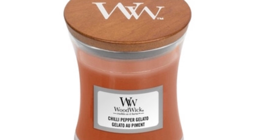 Bougie MM Gelato Piment, Woodwick