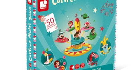 Coffret Multi Jeux Carrousel, Janod