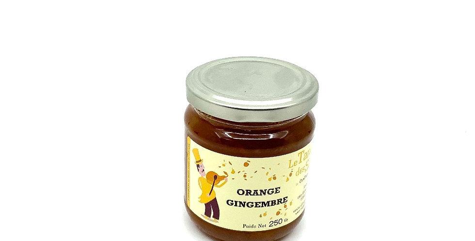 Confiture Orange Gingembre 250Gr, Le Tango Des Saveurs