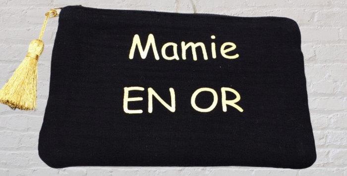 Pochette Mamie En Or