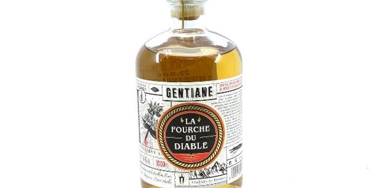 Gentiane La Fourche du Diable, 1L, Distillerie Couderc