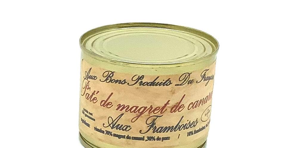 Pâté De Magret De canard Aux Framboises 180Gr, Aux Bons Produits Du Fraysse