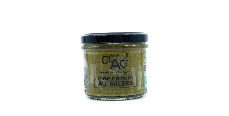 Crème d'Epinard au Salers, 100g, Clac