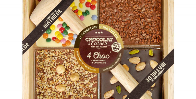 Chocolat A Casser 4 Chocolats, Comptoir De Mathilde