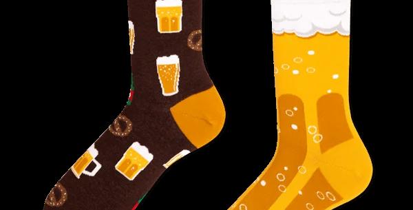 Chaussettes Dépareillées Beer, Many Mornings