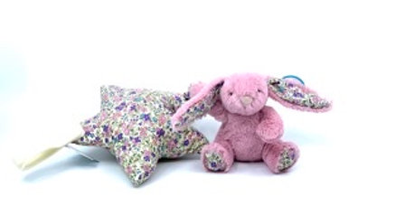 Lapin Rose, Star, Jellycat