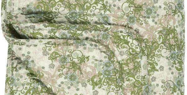 Boutis Vert/Beige 130X180, Ib Laursen