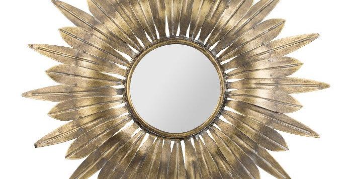 Miroir Belisama Doré, Cote Table