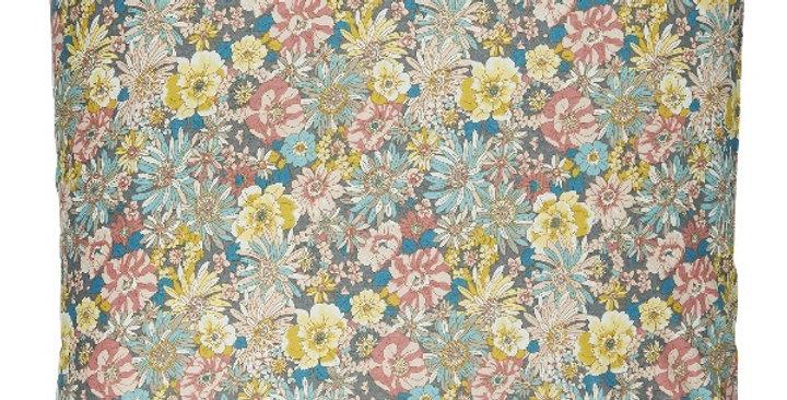 Coussin Fleurs Bleu60X60, Ib Laursen