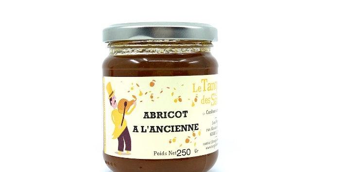 Confiture Abricot à l'Ancienne, 250g, Le Tango des Saveurs