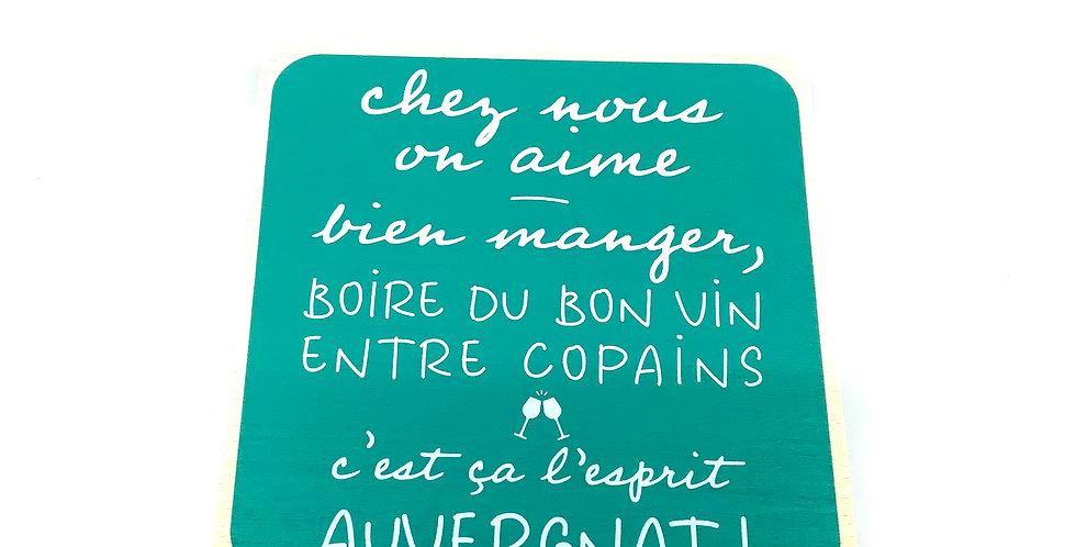 Dessous De Plat Personnalisé Auvergne, Sophie Janière