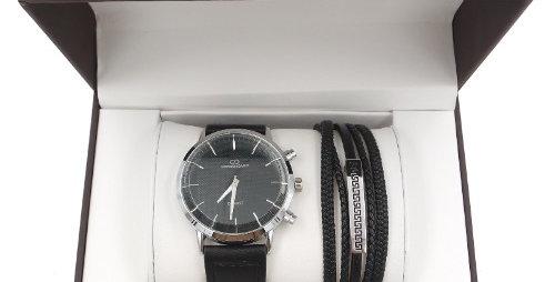 Coffret Homme Montre/Bracelet