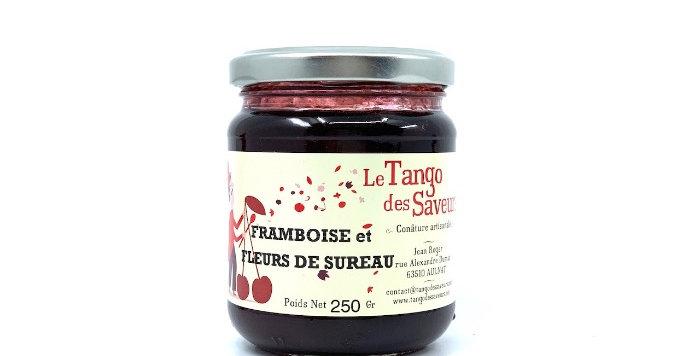 Confiture Framboise et Fleur de Sureau, 250g, Le Tango des Saveurs