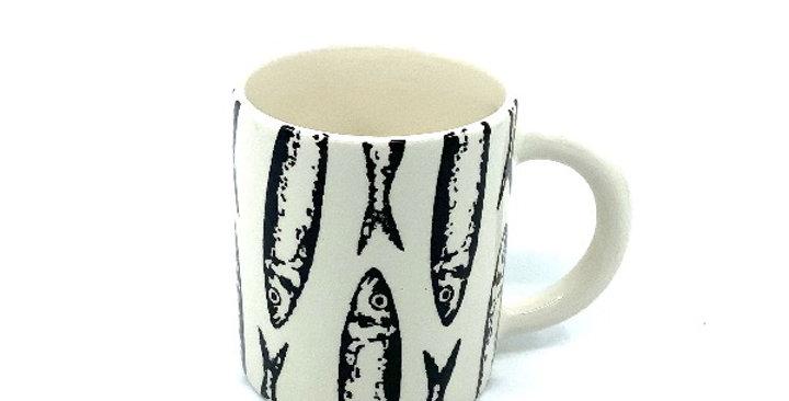 Mug Petites Sardines Noir, Duro